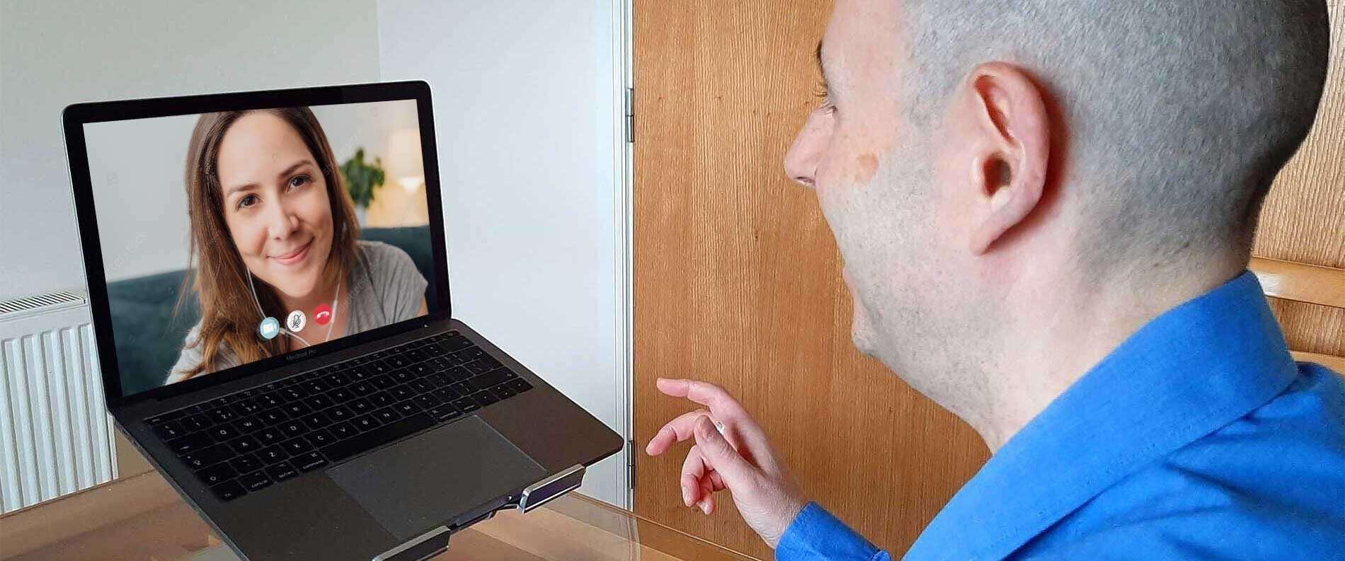 Neil on Zoom Call